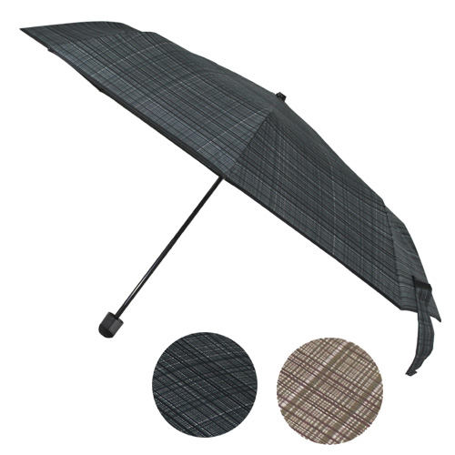 보그 3단 프리미엄체크 우산