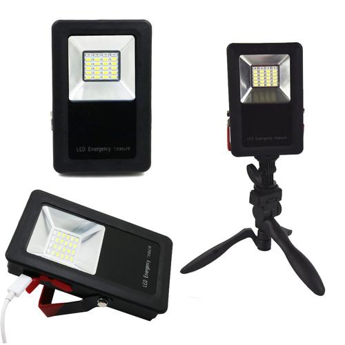 50W 24 LED 충전식 작업등 투광기 랜턴 서치라이트 (거치대포함)