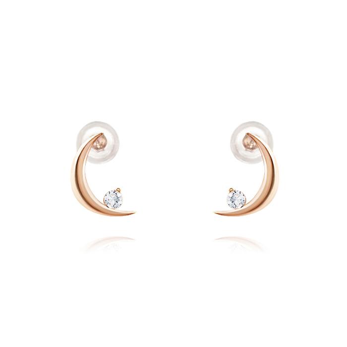 14K 루나스 큐빅 귀걸이 LB5EK760
