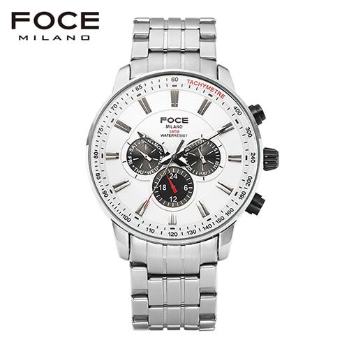 [FOCE]남성 메탈 손목시계 FM6303WH