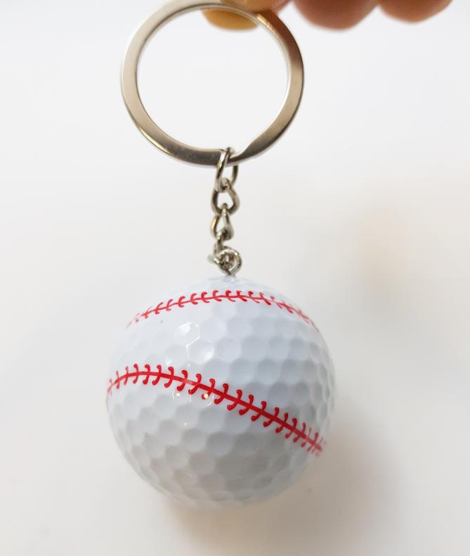 스포츠 골프공 열쇠고리 (야구공모양)