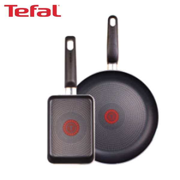[테팔] 쿡이지 프라이팬 28cm+사각 에그팬 12*18cm TFC-CE8EPS18