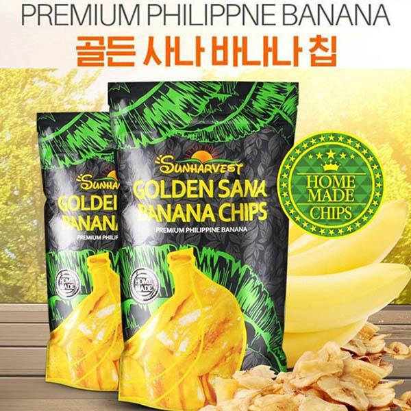 썬하베스트바나나칩 (봉지당 100g) 10봉