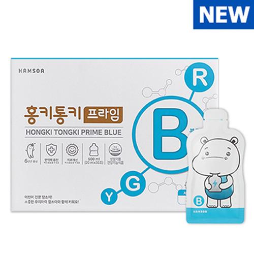 함소아 홍키통키 프라임 블루 20ml x 10포 x 3박스 - (8세~10세)