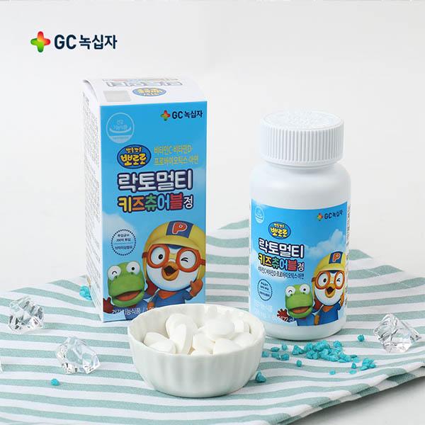 뽀로로 락토멀티키즈 어린이 유산균 60정