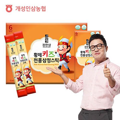 개성인삼농협 황제 키즈 천홍삼정 스틱 10ml x 30포