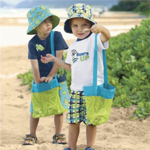 어린이 비치백 장난감 바구니 물놀이 가방
