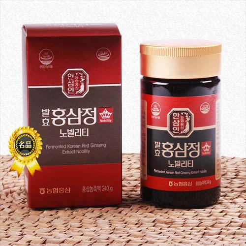 한삼인 발효홍삼정노빌리티 (홍삼농축액 100%) 240g X 1병