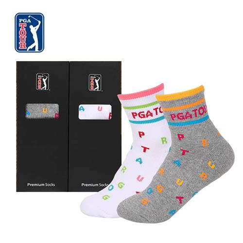 PGA TOUR 골프스포츠 양말(드라이쿨) 여성용 1족