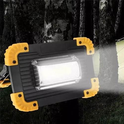 투광기 캠핑 랜턴 작업등 20W LL811  (아답터포함)