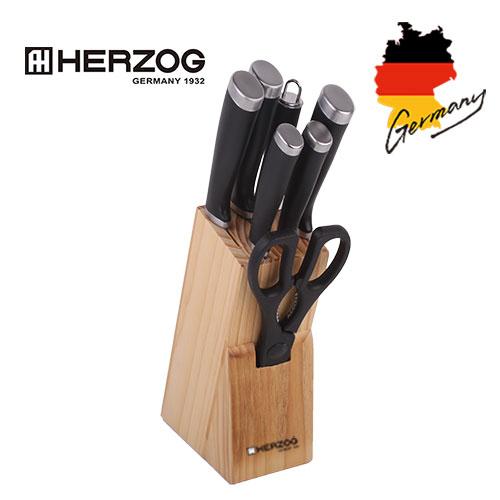 독일 헤르조그 스테인레스 칼블럭 8종세트 MCHZ-K08
