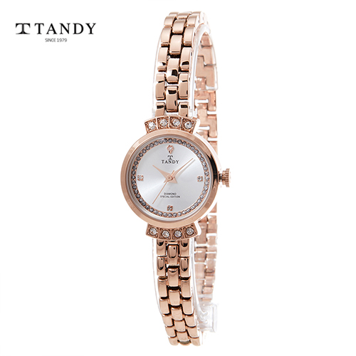탠디 프린세스다이아몬드와치 T-4021 RG