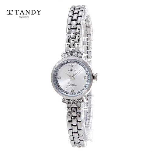 탠디 프린세스다이아몬드와치 T-4021 WH