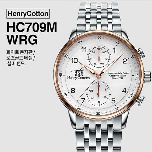 헨리코튼 2019년 신상품 손목시계 정품 70시리즈 HC709M