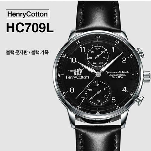 헨리코튼 2019년 신상품 손목시계 정품 70시리즈 HC709L