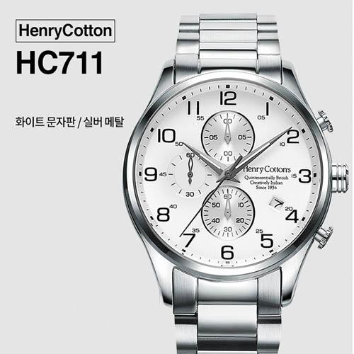 헨리코튼 2019년 신상품 손목시계 정품 70시리즈 HC711