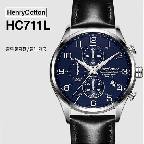 헨리코튼 2019년 신상품 손목시계 정품 70시리즈 HC711L
