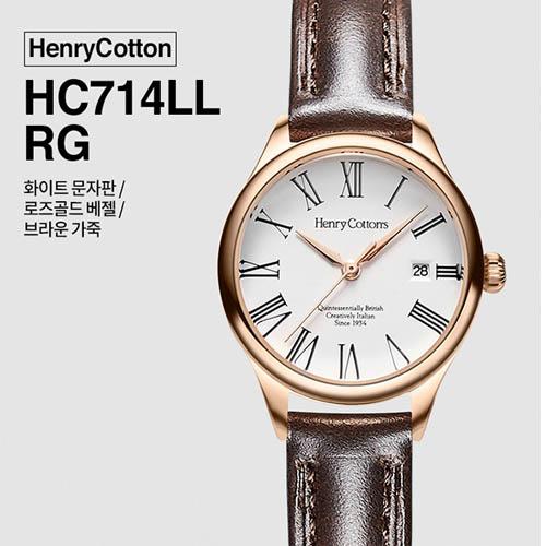 헨리코튼 2019년 신상품 손목시계 정품 HC714LL-RG