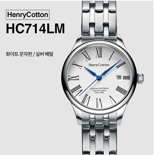헨리코튼 2019년 신상품 손목시계 정품 HC714LM