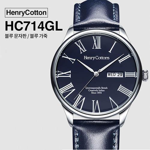 헨리코튼 2019년 신상품 손목시계 정품 HC714GL