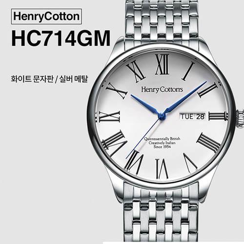 헨리코튼 2019년 신상품 손목시계 정품 HC714GM