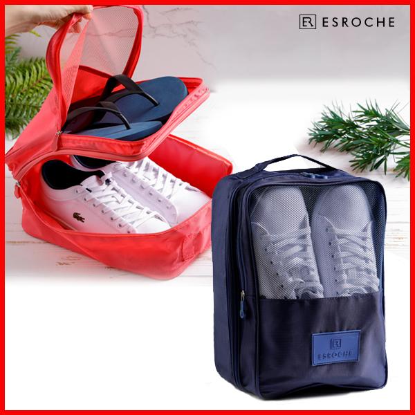[ESROCHE]에스로체 신발주머니 (네이비, 핑크) SB-1001