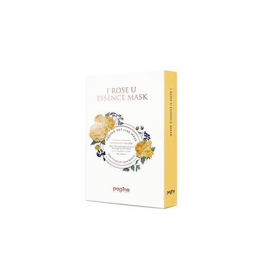 아이로즈유 에센스 옐로우 마스크팩 10매