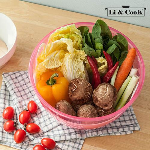 리앤쿡 수박야채 보관용기
