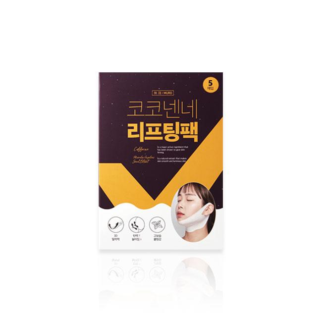 [무로] 코코넨네 리프팅팩 1박스 (5매입)