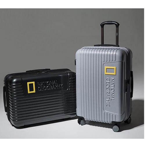 내셔널지오그래픽 24인치 캐리어 세트(24인치. 목배개. 백인백)/티타늄, 블랙/NG S6602F