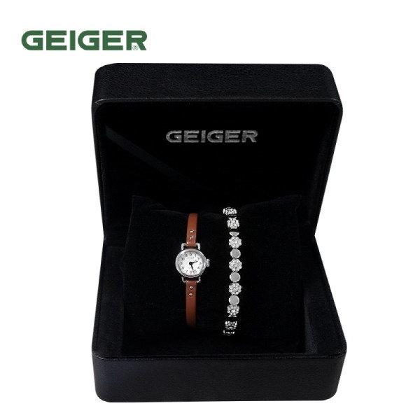 [GEIGER] SET 가이거 여성 메탈 시계 GE612004_WBR