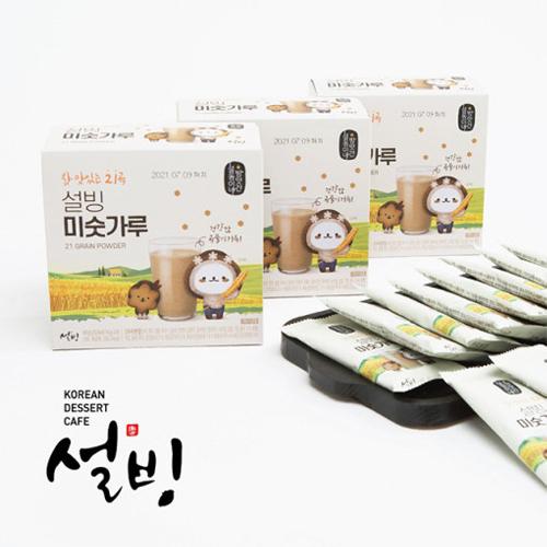 [설빙] 15곡 곡물가득 미슷가루 라떼 10포