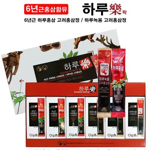고려홍삼 하루락60포(홍삼스틱30포+녹용스틱30포)