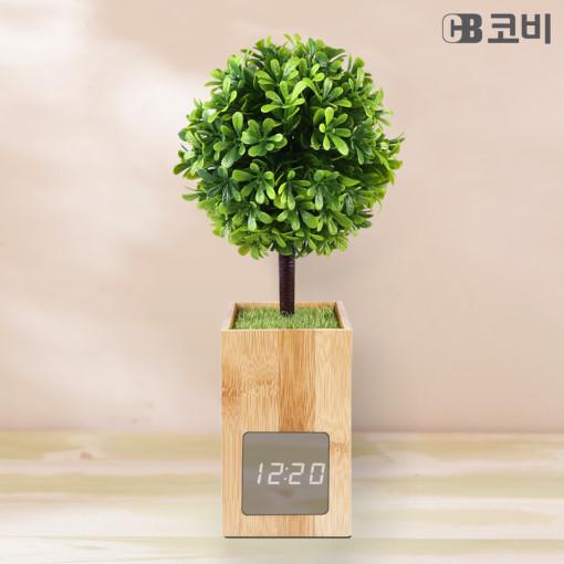코비 BL60 대나무 LED 알람시계