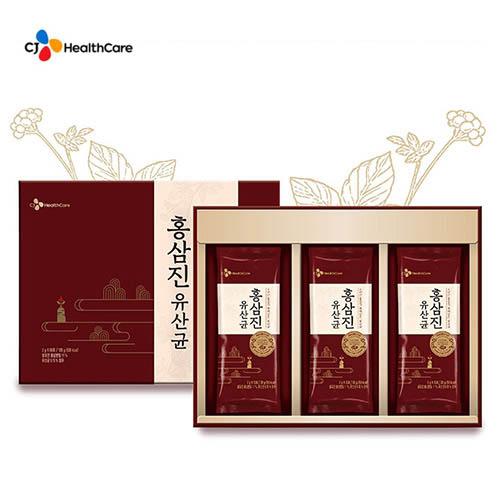 [CJ헬스케어] 6년근 홍삼 홍삼진 유산균 60포
