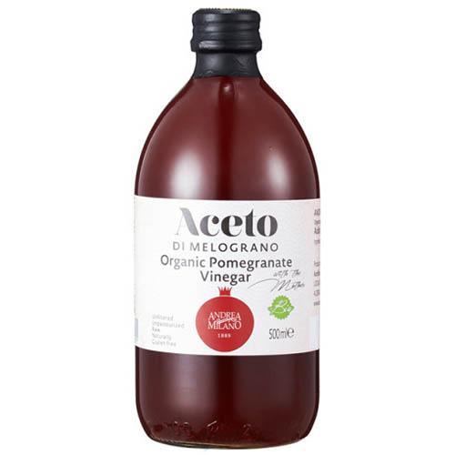 안드레아 밀라노 유기농식초 천연발효 석류 500ml