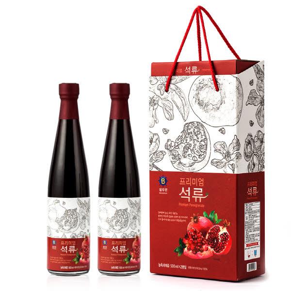 블루원 프리미엄 석류농축액 500ml*2병세트