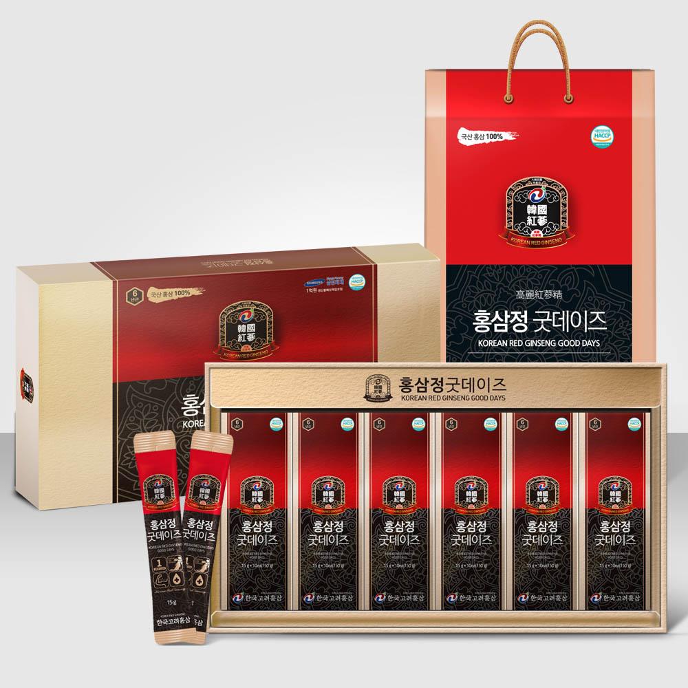 홍삼정 굿데이즈 15ml*60포 (2달분)/HACCP인증