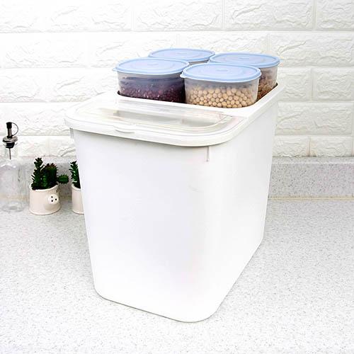 올패스 미니잡곡쌀통(대) 16kg (390*275*355)