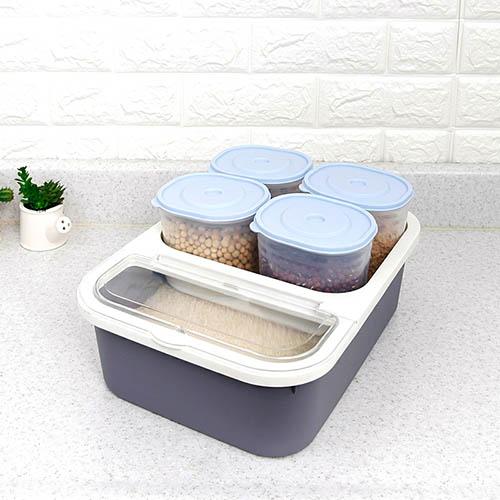 올패스 미니잡곡쌀통(소) 3kg (390*275*155)