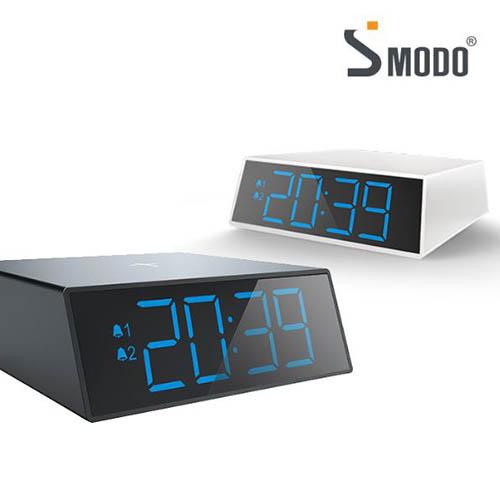 에스모도 고속무선충전 LED시계 SMODO-204