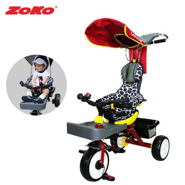 ZOKO 조코 플러스C600 유아세발자전거(슬림형_반조립)레드+풋홀더