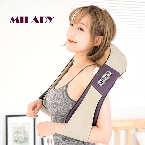 밀라디 코드리스 목어깨 마사지기 MLD-MM3000C