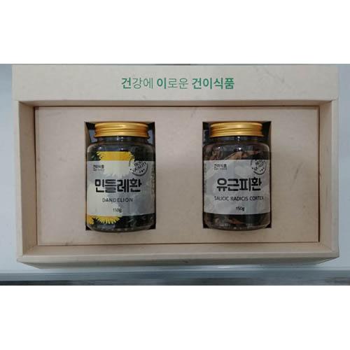 [건이식품]민들레환150g+유근피환150g