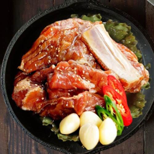 더락 국내산 양념 돼지갈비 1800g
