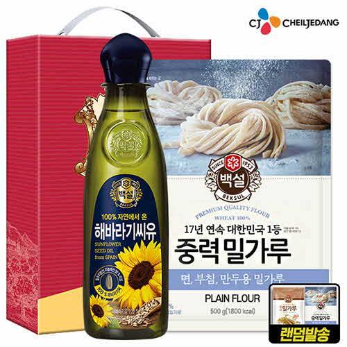 CJ 백설해바라기유 밀가루(2종)-타신