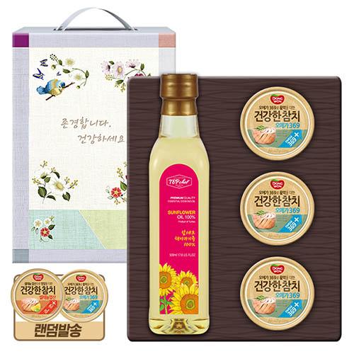 탑셰프 페트해바라기유 동원참치3P(4종)