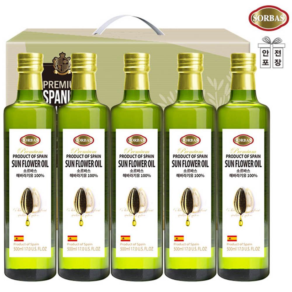 (스페인직수입)소르바스 해바라기유5P(5종)