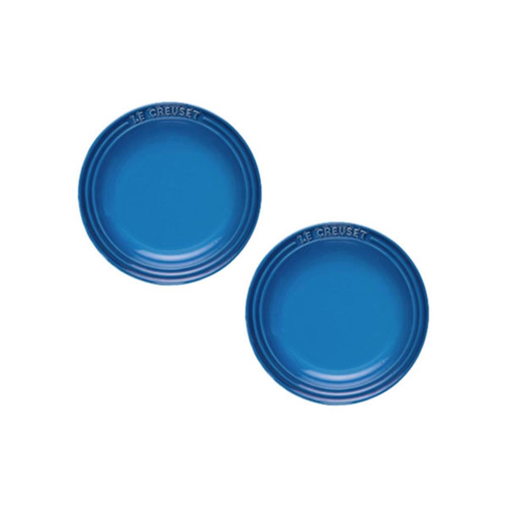 [르크루제] 원형 접시 19cm 2P