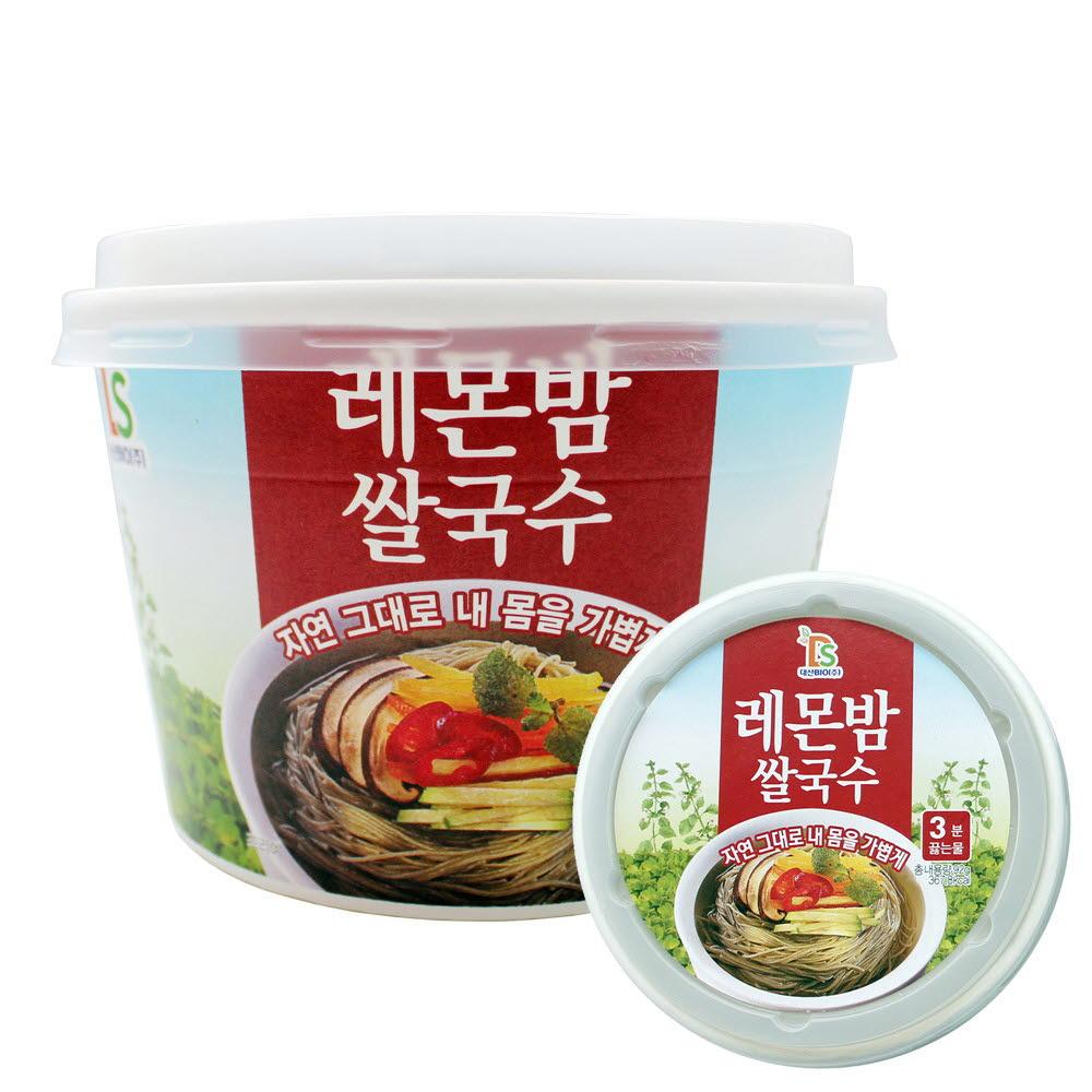 우리쌀로만든 레몬밤쌀국수 92gx10개(1박스)